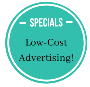 Low-Cost Advertising cirlce
