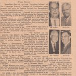 Founders newspaper clipping